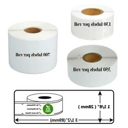 "1 1/8"" x 3 1/2"" For DYMO LW 130/350/700 Labels P/Roll 30254"
