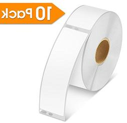 10 Rolls - Spartan Industrial DYMO Compatible 30252 Replacem