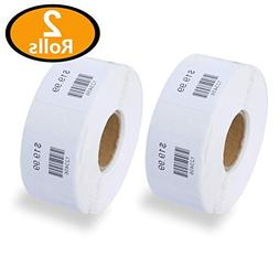 2 Rolls/1500 Labels Dymo 30332 Compatible Multipurpose Squar
