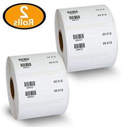 "2 Rolls Dymo 30299 Compatible 3/8"" x 3/4"" LabelWriter Self-A"