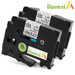 2PK TZe131 Label Tape Compatible Brother P-touch Label Maker