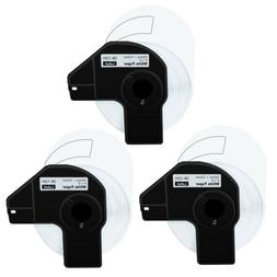 """3 Roll 200 Shipping Labels DK-1241 4"""" x 6"""" for Brother QL-10"""