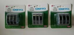 DYMO 3D Plastic Embossing Labels for Embossing Label Makers