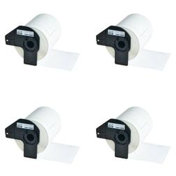 4 Rolls DK1241 Large Shipping Labels for Brother QL-1050 106