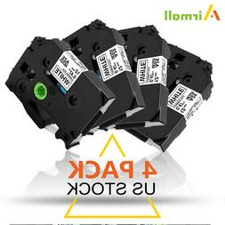 4PK Compatible Brother P-Touch TZ TZe 231 TZ-231 Tape 0.47in