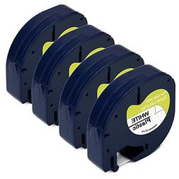 JARBO 91331 Compatible for DYMO Letratag 91331 Label Tape Bl