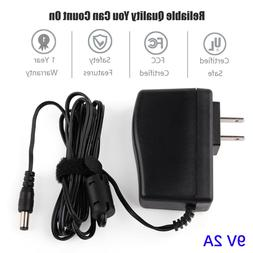 9V Ac Dc Adapter for Brother AD-24 AD-24ES AD-20 AD-30 AD-60