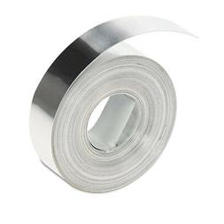 DYMO Embossing Aluminum Adhesive, 0.5 Inches x 12Mm x 12 Fee