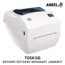 Zebra - GC420t Thermal Transfer Desktop Printer for Labels,