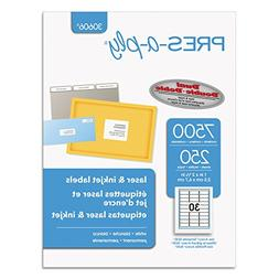 AVE30606 - Avery Pres-A-Ply Standard Address Label