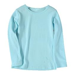 Birdfly Baby Unisex Basic Plain T-Shirt Top Toddlers Kids Lo