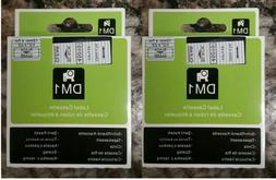 2PK Black on Clear Tape Label Compatible for DYMO 45010 D1 L