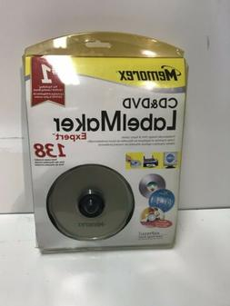 Brand New Sealed MEMOREX CD & DVD Label Maker LabelMaker Exp