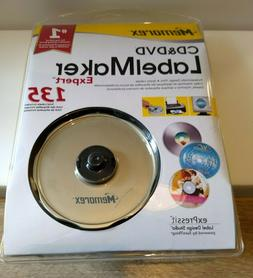 Memorex CD & DVD Label Maker Expert 135 New Part #3202 3947