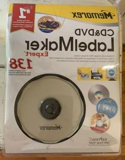 Memorex CD&DVD Label Maker Expert 138 Kit