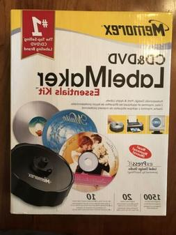 Memorex CD & DVD LabelMaker Essentials Kit System Label Make
