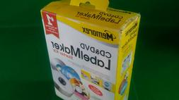 memorex CD DVD BluRay Label Maker Starter Kit