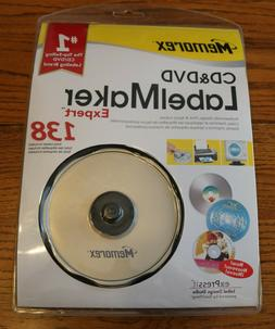 Memorex CD/DVD Label Maker Expert.  New, Sealed
