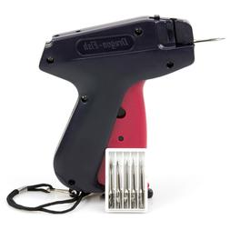 Clothes Tag Price Tagging Gun Label Machine Kit with 6 Needl