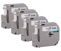 4PK Onirii Compatible Brother P-touch Label Tape M231 MK231