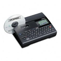 Casio® CW-K85 Stand-Alone or PC Compatible Disc Title Print