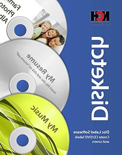 Disketch CD Label Software for Windows Creates Labels and Co