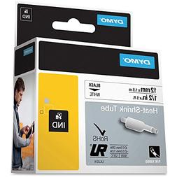 Dymo DYM18055 Rhino 4200 Heat Shrink Tube Labels Tape, 1/2""
