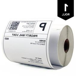 "Buhbo DYMO Compatible 4"" x 6"" 4XL Shipping Label 1744907,Whi"