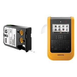 DYMO XTL 500 Label Maker Kit with 6mm Permanent Flat Labels
