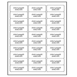 """Address Labels for Inkjet Printers 1"""" x 2-5/8"""", Pack of 1500"""