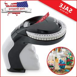 DYMO Embossing Label Maker with 3 DYMO Label Tapes Organizer
