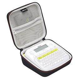 LTGEM Hard Carrying Case for Brother P-Touch PT-D210 Label M