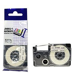LM Tapes - Casio KL-750 9mm Black on White Compatible Label