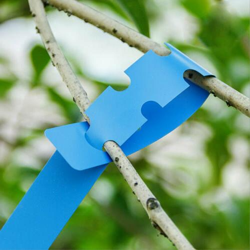 100Pcs Plant Tree Tags Labels Name Resuable Colored