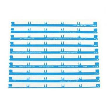 Avery 11446 Index Clear Label Punched Five-Tab Sets