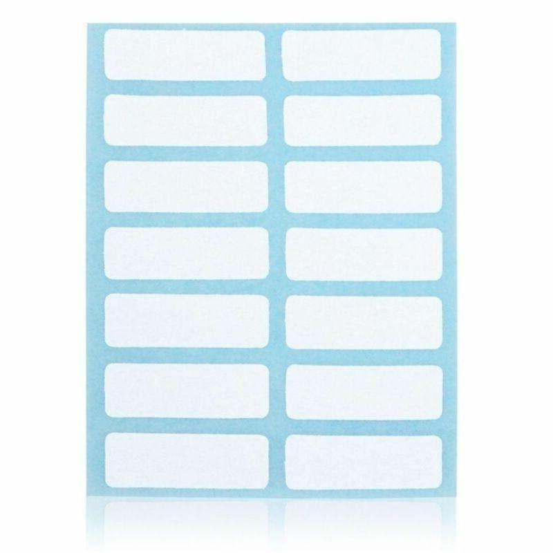 12 Sticker Labels Blank Name Good