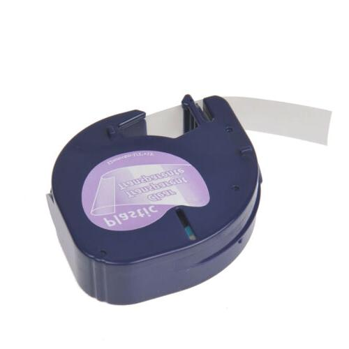 US STOCK 8PK on Clear for DYMO Letra Label Makers