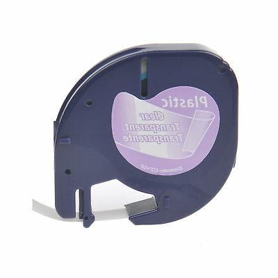2PK Refill Tape LT for LetraTag&QX50 Label Makers
