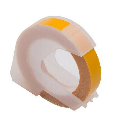 5PK Replace for Dymo Plastic Embossing
