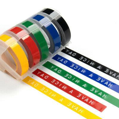 5pk replace label tape for dymo 3d