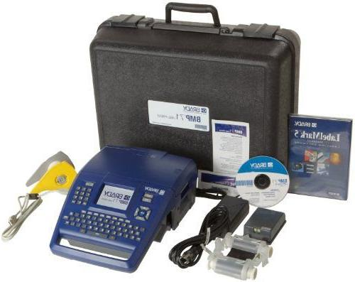 Brady BMP71 Label Printer with LabelMark Software and USB Co