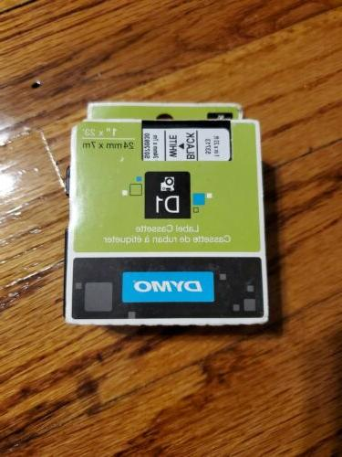 DYMO Authentic Standard D1 53713 Labeling Tape