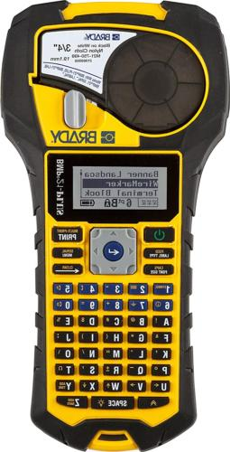 bmp21 plus handheld label printer with rubber