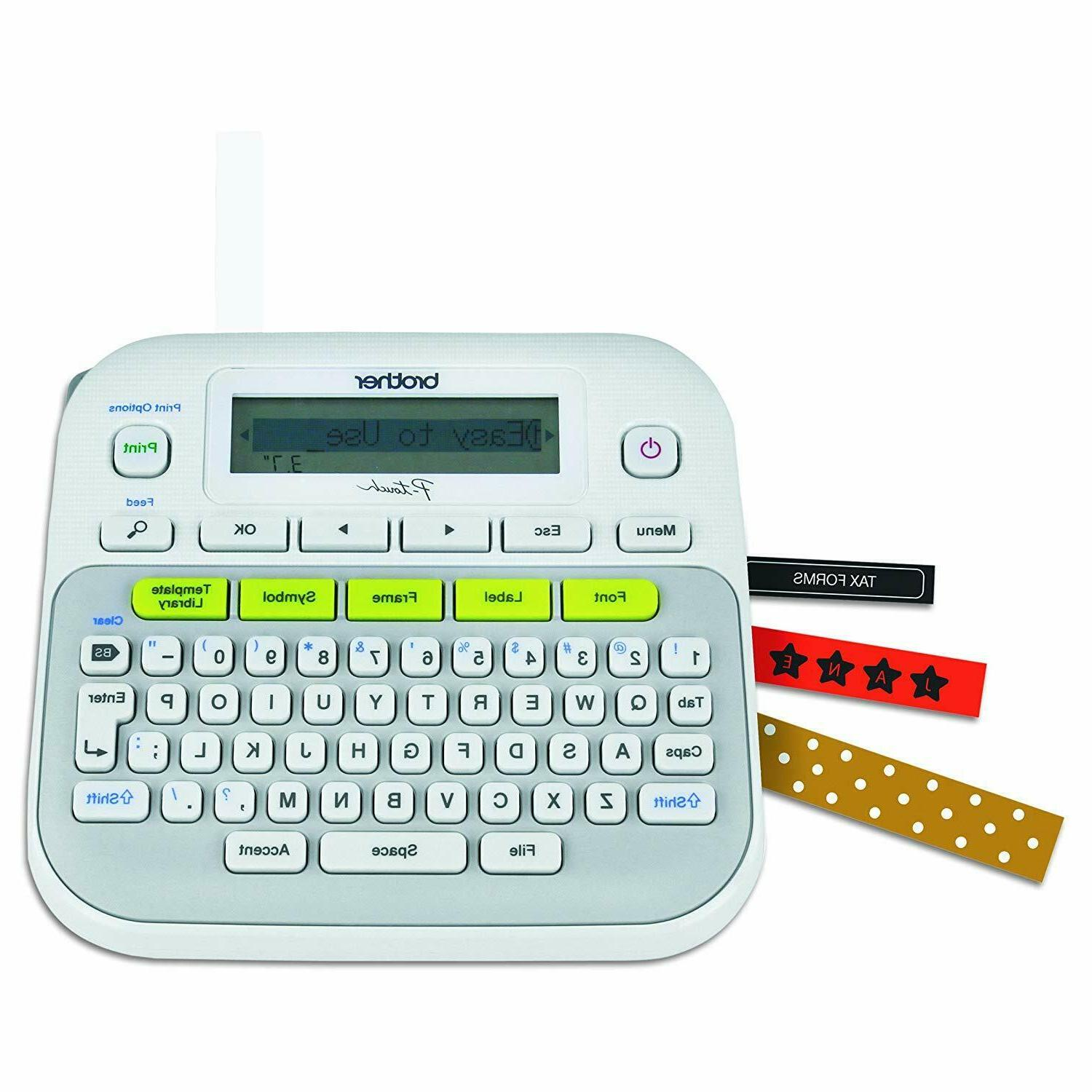 p touch ptd210 label maker one touch