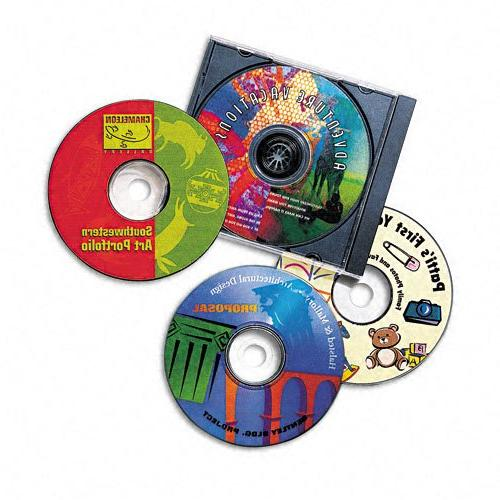 Avery CD White, 40 Disc and Spine