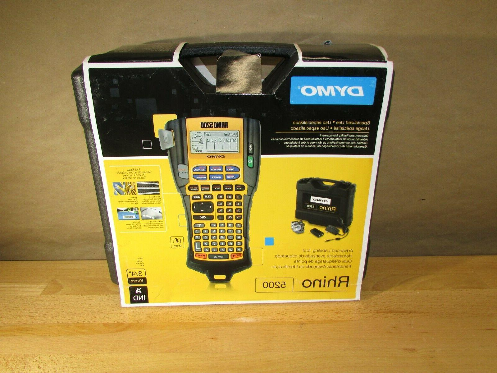 dymo rhino 5200 label maker