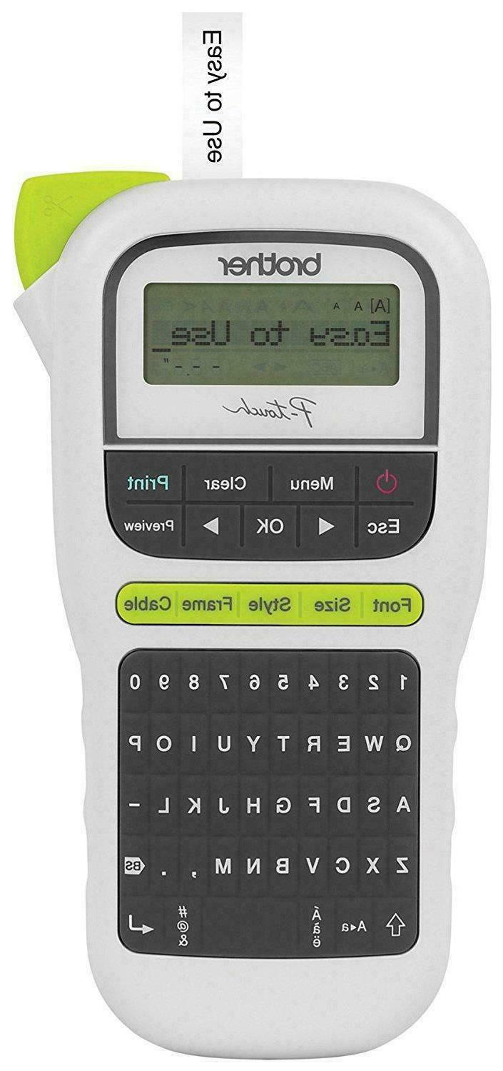 easy portable label maker lightweight qwerty keyboard