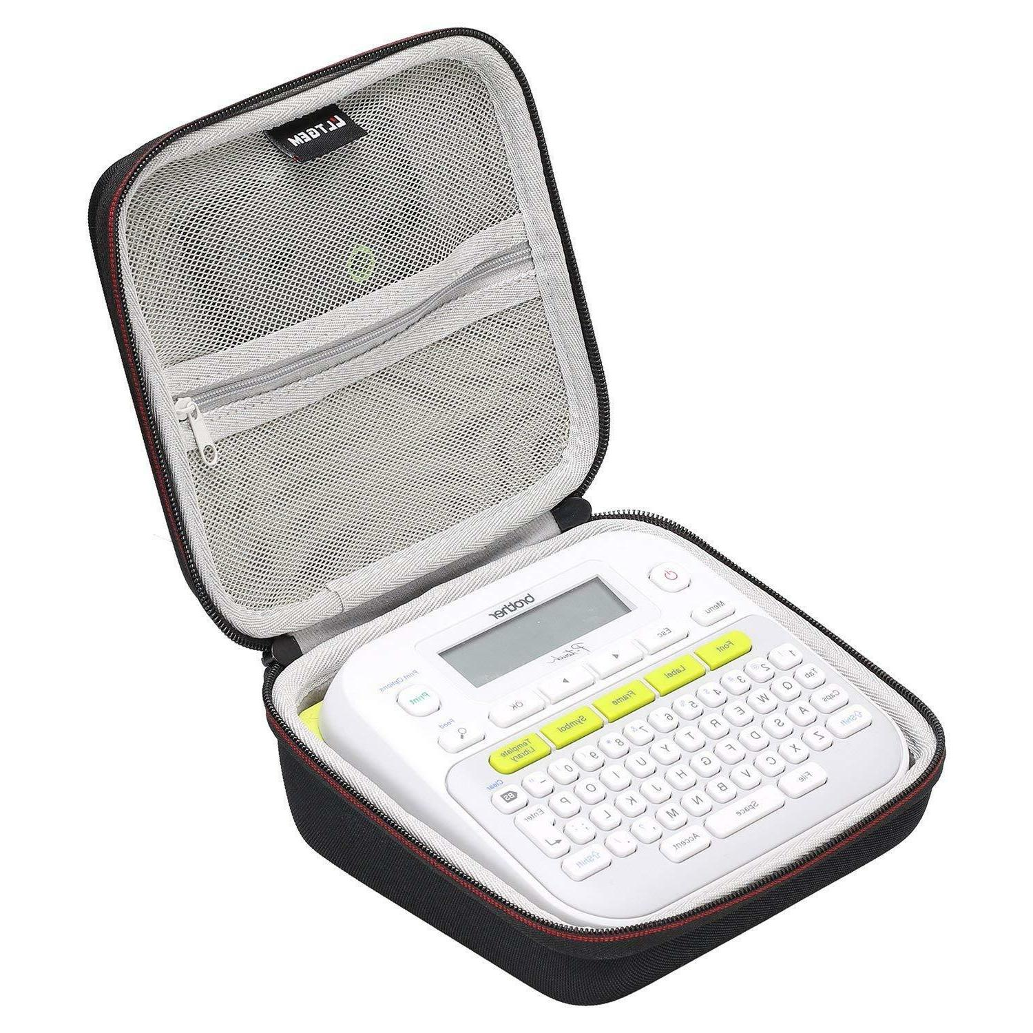 LTGEM Hard Storage Travel Carrying Case for Brother P-Touch