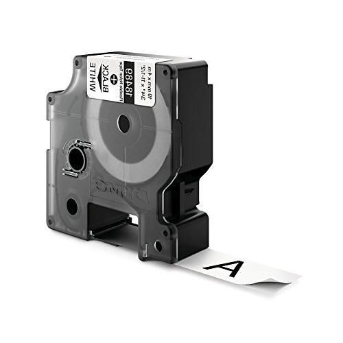 DYMO for LabelWriter and Label Black White, 3/4, 1
