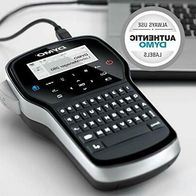 DYMO Label Maker|LabelManager Rechargeable Portable Label Maker, Easy-to-Use